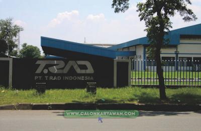 Lowongan Kerja PT T.RAD Indonesia Terbaru 2020