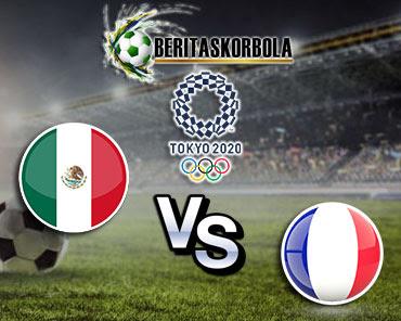 Prediksi bola olimpiade Meksiko vs Prancis 22 Juli 2021