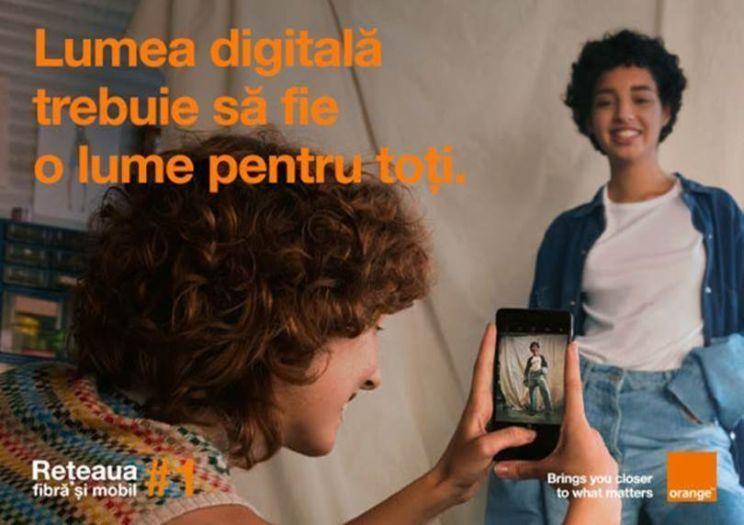 Orange lanseaza o noua campanie nationala de constientizare a importantei accesului la tehnologia digitala