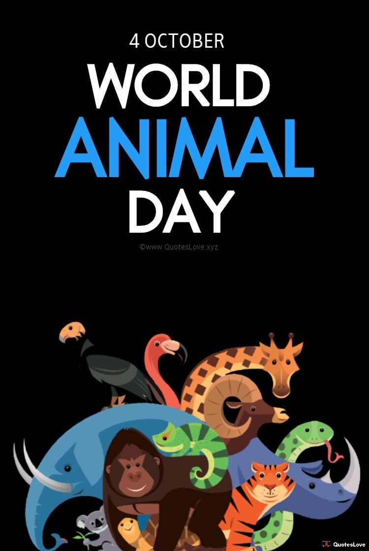 World Animal Day Images, Pictures, Poster, Photos, Wallpaper