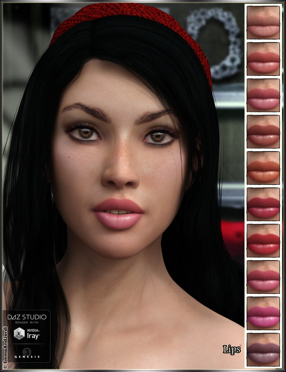 Download DAZ Studio 3 for FREE!: DAZ 3D - EJ Elmira for ...