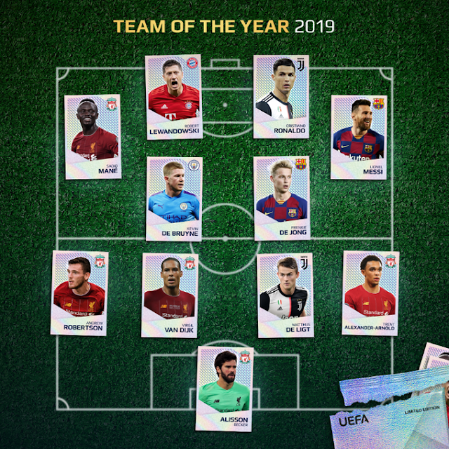 UEFA squeezed Ronaldo into TOTY ahead of Kante though he got less votes