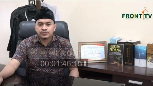 Munarman Dilaporkan, Aziz Yanuar: Enggak Ada Kamusnya FPI Gentar Menyuarakan Keadilan