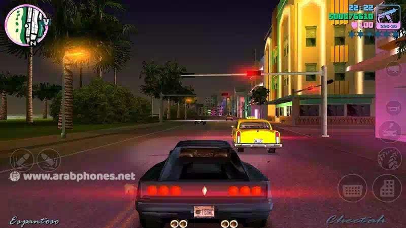 تحميل لعبة GTA Vice City مهكرة كاملة آخر اصدار للاندرويد apk + obb