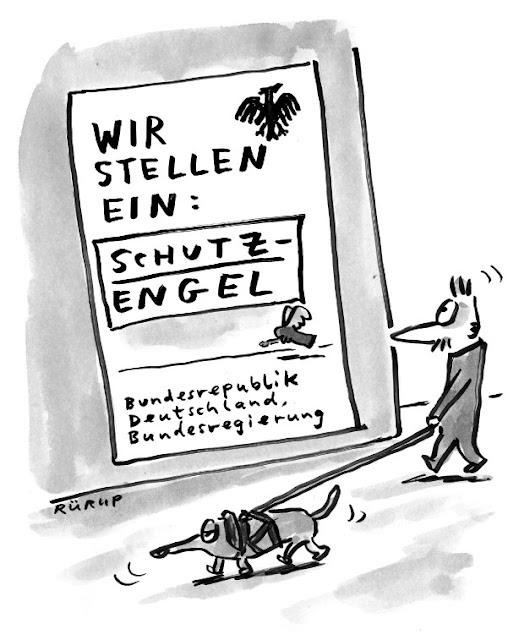 Job, Jobangebot, Ausschreibung, Berlin, Merke, Regierung, Bundesregierung, Hund, Engel, Schutz, Rürup