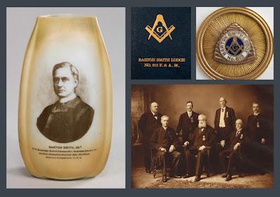 Barton Smith. Supreme Council, 33°. Scottish Rite, NMJ. Grand Lodge of Ohio