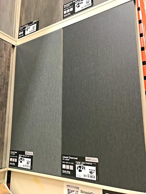 Allure vinyl tile