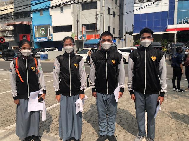 SMAN students 110 Passed Paskibra DKI Jakarta Level 2021