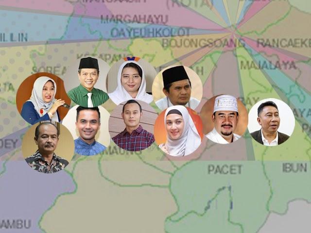 Ini Figur-Figur yang Namanya Mencuat Menjelang Pilbup Kabupaten Bandung 2020