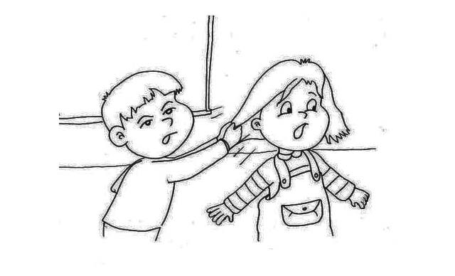 dibujos faciles sobre violencia genero