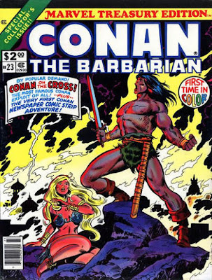 Marvel Treasury Edition #23, Conan the Barbarian