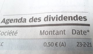 action Rubis detachement dividende 2021