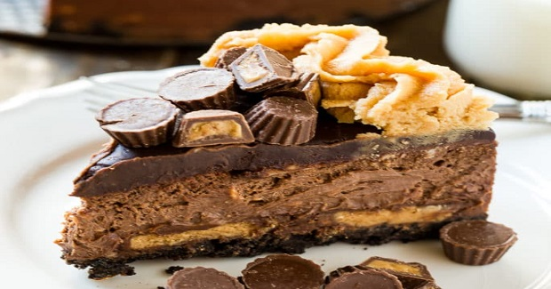 Chocolate Peanut Butter Cup Cheesecake Recipe