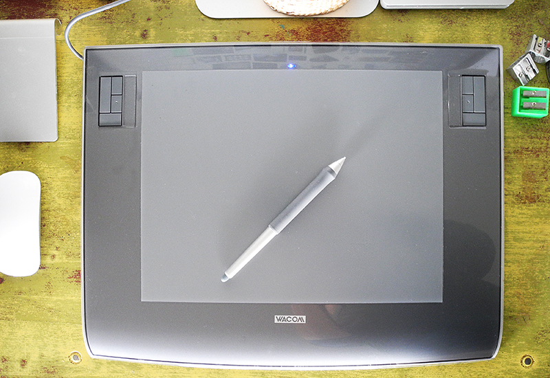Drawing Tablet, art studio tools and equipment