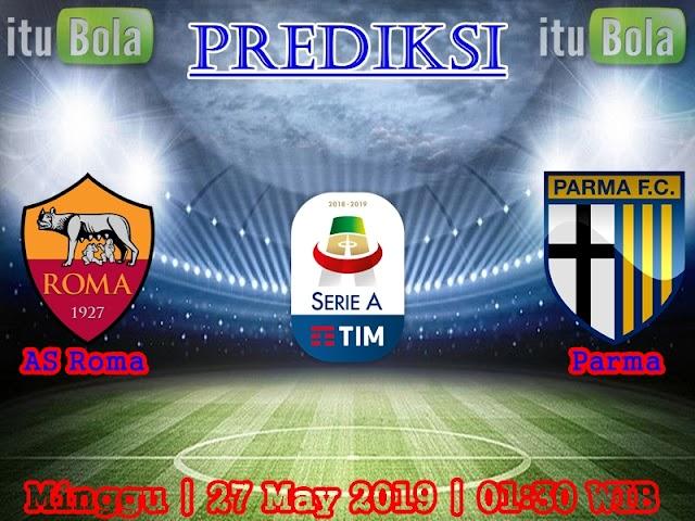 Prediksi AS Roma Vs Parma - ituBola