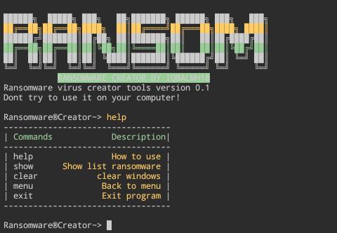 Cara membuat virus ransomware di termux menggunakan ransomware creator