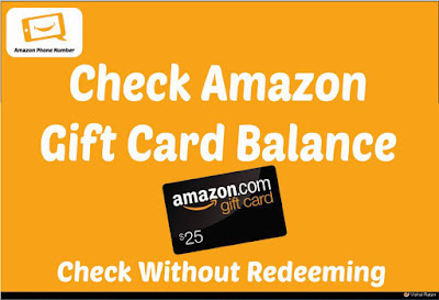 Amazon Gift Card Balance - Check Without Redeeming