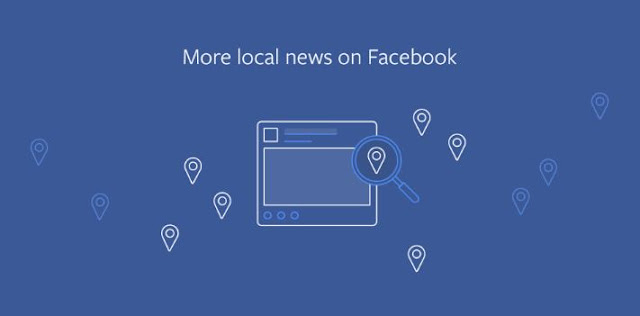 Facebook contre-attaque Google Bulletin en priorisant les news locales