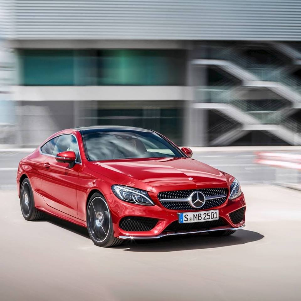 Motoring-Malaysia: All-New Mercedes Benz C-Class Coupe