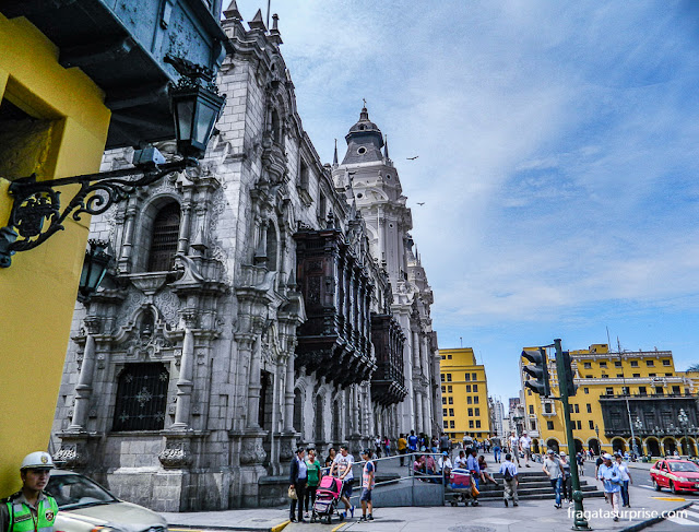 Palácio Arquiepiscopal de Lima, Peru