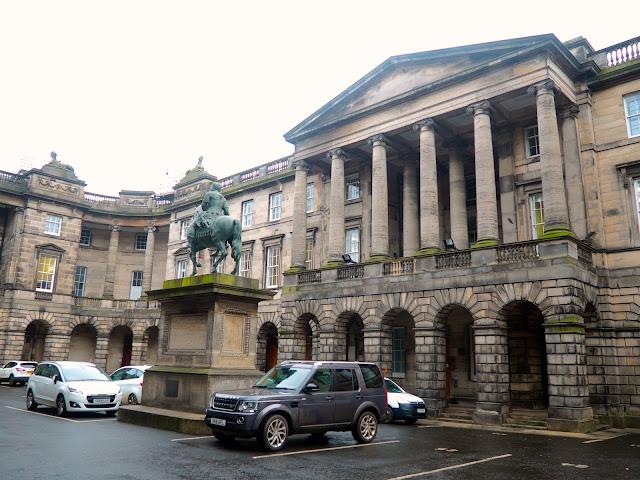Parliament Square, Royal Mile, Edinburgh