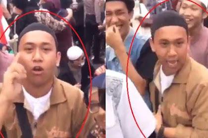 Masih Ingat Pemuda yang Anc*m Pengg*l Kepala Presiden? Begini Jawabannya saat Ditanya Soal Jokowi