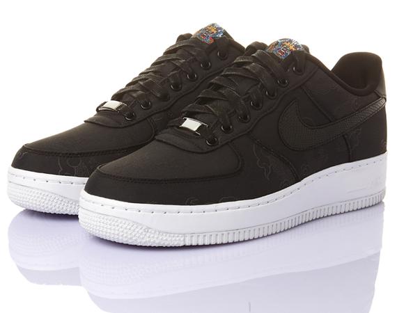 f5d3345cdf Nike Air Force 1 Low Supreme I/O TZ Year of the Dragon. Black, Black.  516630-090. Underneath the Nike Air Force 1 – Year of the Dragon's simple  design of ...