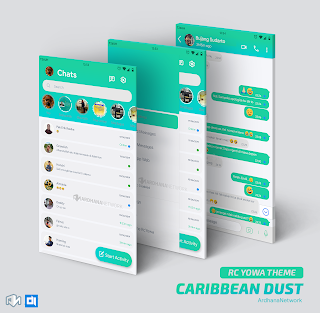 RCYowa Theme Caribbean Dust