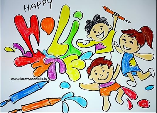 holi-drawing-pictures