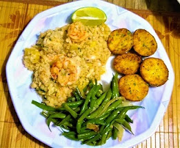 Coconut Pineapple Cauliflower Rice with a Twist (Paleo, Whole30, Gluten-Free, Grain-Free) 3.jpg