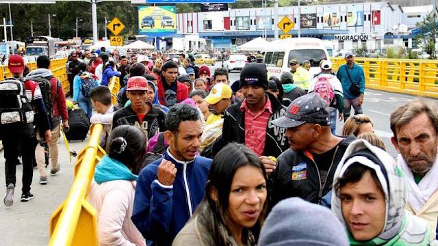 DEFENSORÍAS DE COLOMBIA, ECUADOR Y PERÚ PIDEN FACILITAR MIGRACIÓN VENEZOLANA