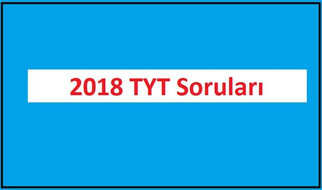 2018 TYT Sosyal Bilimler: Tarih Kolay, Coğrafya Açık, Felsefe ve Din Kültürü Yoruma Dayalı