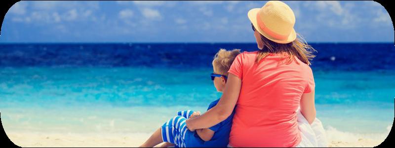 As férias dos pais separados