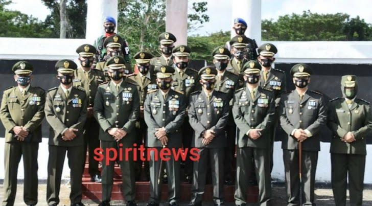 Danrem Brigjen Djashar, Ziarah Nasional HUT TNI Ke 75 Tahun 2020 Sudah Tradisi Prajurit TNI