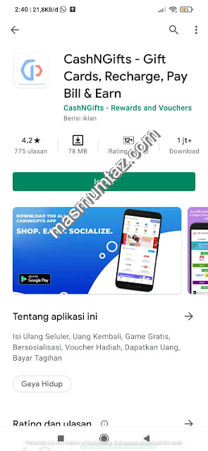 aplikasi penghasil dollar cash gift