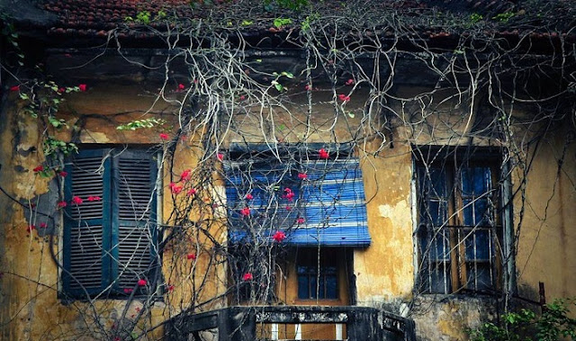 The ancient Hanoi at old quarter.