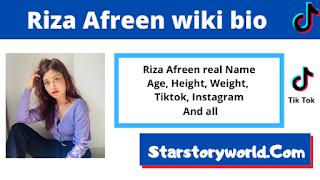 Riza Afreen bio