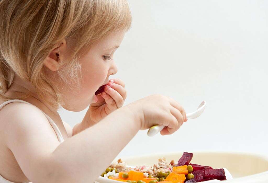 vegetable for child food