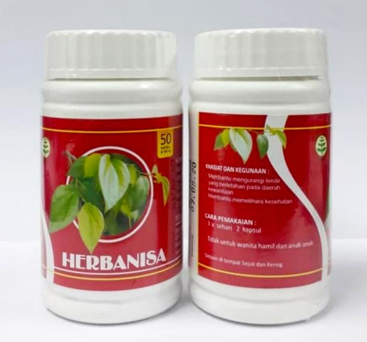Jual Herbanisa Keputihan dan Nyeri Haid