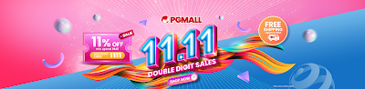 pg mall 11.11 sales