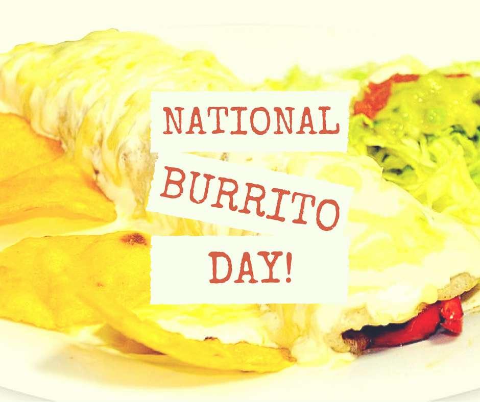 National Burrito Day Wishes