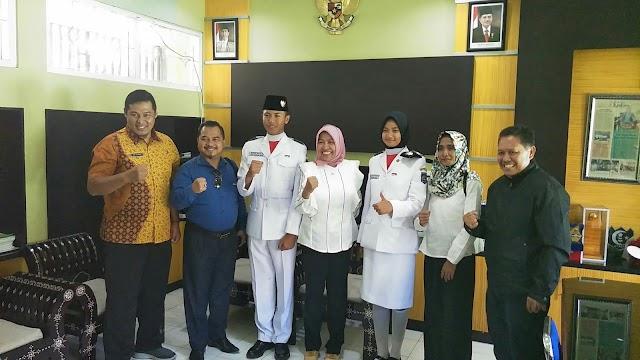 <b>Duta Paskibraka Nasional Asal NTB Balik Ke Lombok, Kemenpora dan PPI Turut Berempati Atas Musibah Gempa</b>