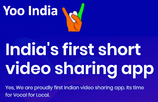 Yoo India - Yoo App - India's first short video sharing app