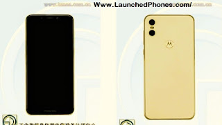 is listed on TENAA alongside the notch too the model reveal of this  Motorola P30 Plus coming alongside the 4 cameras