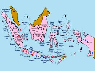 Daftar Provinsi di Indonesia dan Ibukotanya [Terbaru]