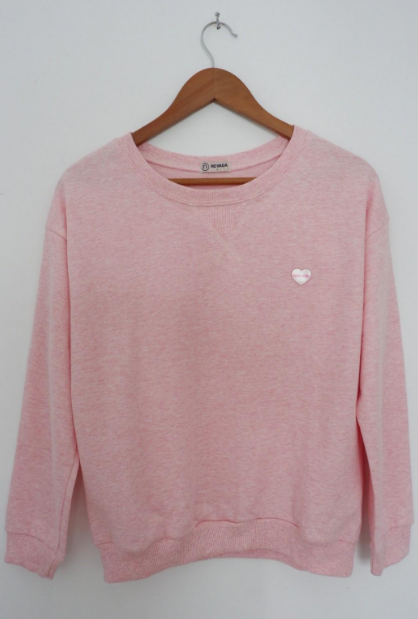sweater nevada pink polos