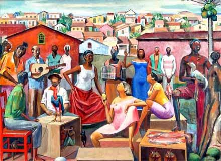 Ovo da Ema - Carybé ~ Um pintor fascinado pela cultura da Bahia