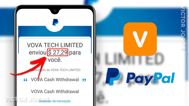 PAGOU R$112!! Como GANHAR Muito Dinheiro RÁPIDO com o App VOVA [+Prova de Pagamento]