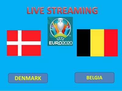 Link Live Streaming Euro 2020  DENMARK Vs BELGIA Berlangsung Di Stadion Parken