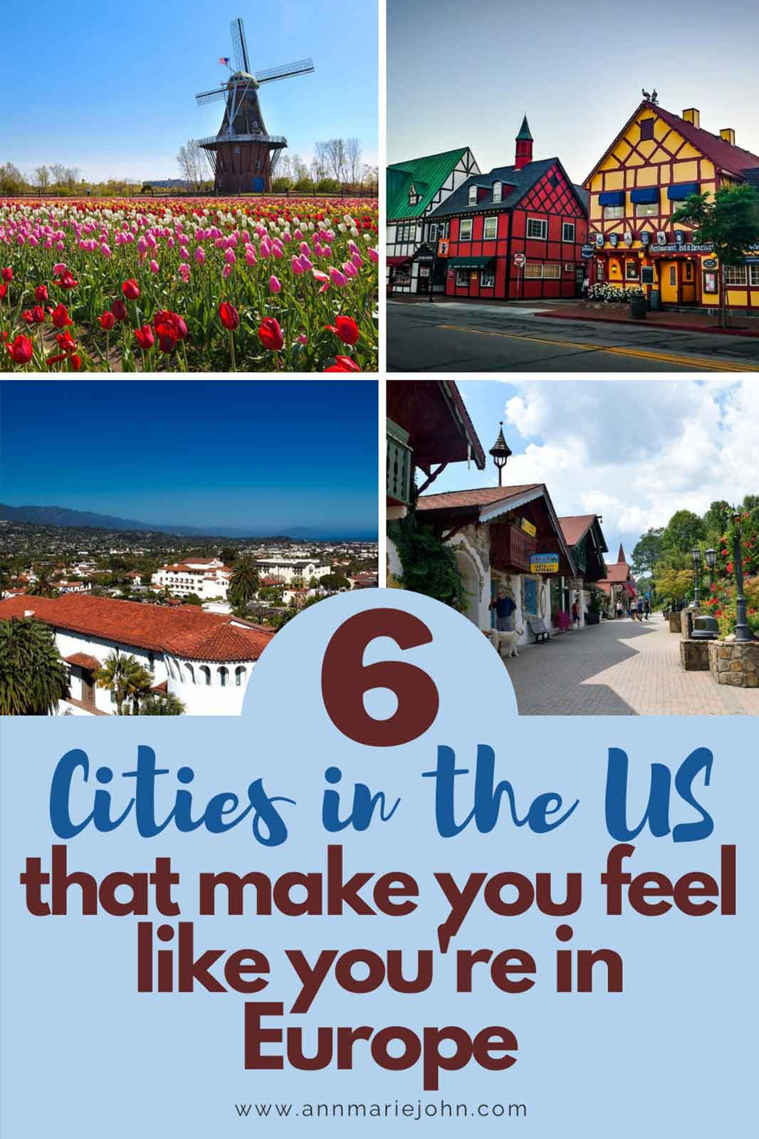 Cities in the US that Will Make you Feel Like You're in Europe